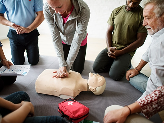 first aid traing for covid
